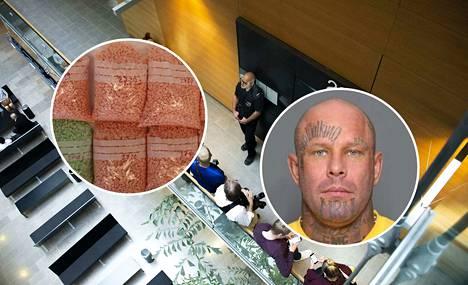 Helsingin käräjäoikeudessa luettiin tammikuun lopulla syytteet ex-jengipomo Janne Tranbergin (kuvassa) johtamaksi epäillyn rikollisliigan ennätysmäisistä huumerikoksista.