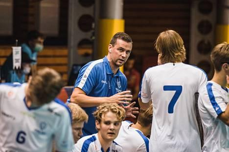 Suomen alle 19-vuotiaiden maajoukkueen päävalmentaja Jarmo Härmä oli tyytyväinen joukkueensa esitykseen.