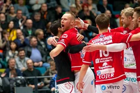 Viime vuonna miesten Suomen Cupin voittoa juhli VaLePa.