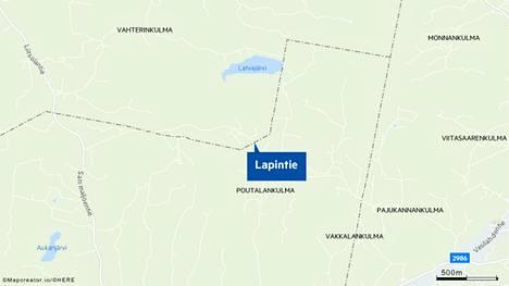 Tulipalo syttyi Punkalaitumen Lapintien varrella sijaitsevassa hakekeskuksessa.