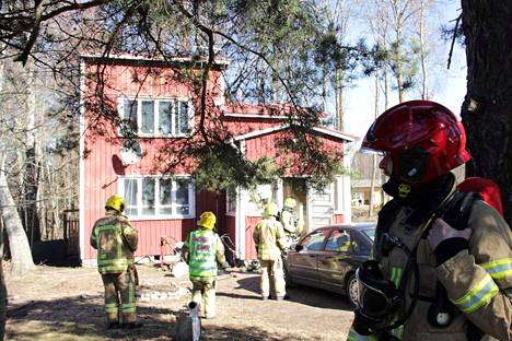 Kokemäen Peipohjassa maanantaina syttynyt omakotitalon tulipalo saatiin nopeasti hallintaan.