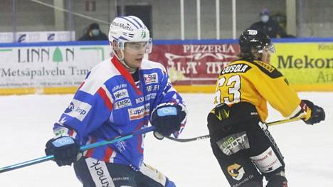 Hyökkääjä Jani Siekkinen jatkaa pelejään KeuPa HT.n pelipaidassa kaudella 2021-2022.