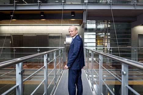 Fortumin toimitusjohtaja Pekka Lundmark sanoo ymmärtävänsä Uniperin työntekijöiden huolia. Arkistokuva.