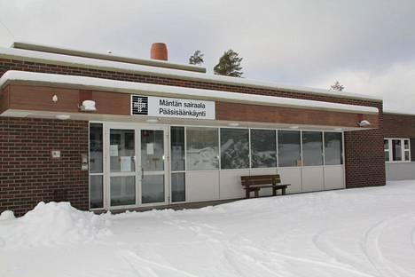 Mäntän entinen aluesairaala on ollut tyhjillään vuodesta 2014. Kuva on vuodelta 2016.