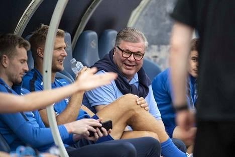 Ari Lahti toimii Palloliiton puheenjohtajana.