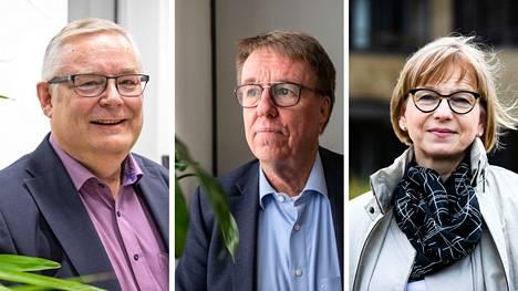 Muutosjohtajiksi esitetään Jaakko Herralaa ja Jukka Alasentietä. Aluepelastuslaitoksen hallintopäällikkö Pirkko Lindströmiä esitetään myös osa-aikaiseksi hyvinvointialueen palo- ja pelastustoimen hallintopäälliköksi kymmenen prosentin työajalla.