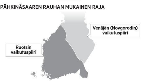 Pähkinäsaaren rauha solmittiin vuonna 1323.