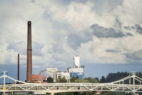 Porin Energian Aittaluodon voimalassa oli ongelmia maanantaina.