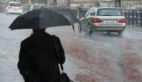 Keskiviikkona 13.7.2016 Pirkanmaalla satoi vettä monin paikoin hurjia määriä lyhyessä ajassa