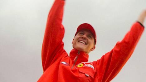 Michael Schumacher toi Ferrarille maailmanmestaruuden vuonna 2000.
