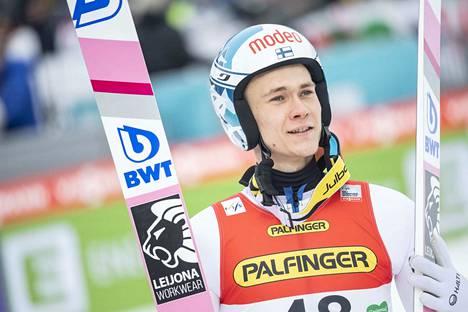 Antti Aalto pääsi mukaan perjantain kisaan.