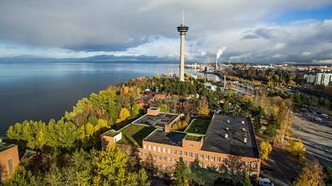 Onkiniemen tehdasrakennuksen tontinluovutuskilpailu on parhaillaan käynnissä Tampereella.
