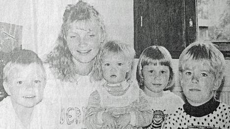 Vilppulan Vuoden nuori Anne Koskelainen piti työstään Vilppulan päiväkodissa ja aikoi lähteä opiskelemaan alalle.