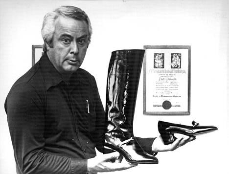 Pertti Palmroth kuvattuna vuonna 1977.