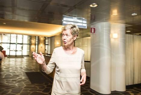 Eeva-Liisa Inkeroinen lupautui postilakon selvitysryhmään. Häntä ei siihen kuitenkaan otettu.