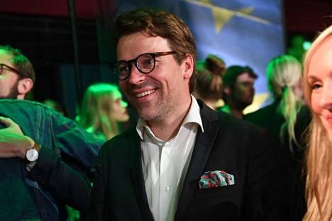 Vihreiden Ville Niinistö on yksi tämän vaalivuoden ääniharavista heti Eero Heinäluoman (sd) jälkeen.