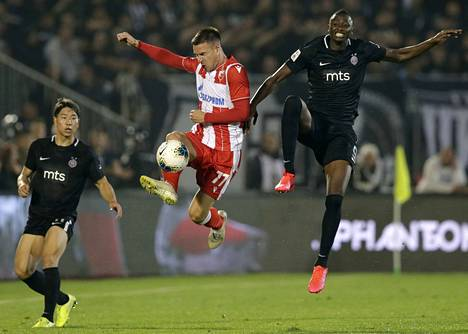 Belgradin Punaisen tähden ja Partizanin pelissä oli 16 000 katsojaa.