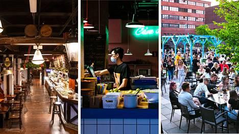 Ravintoloita koskevat rajoitukset kevenevät Pirkanmaalla torstaista 13. toukokuuta alkaen.