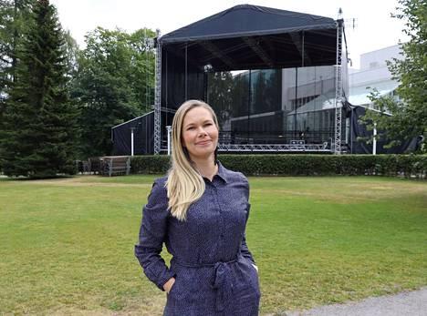Katri Varjos aloittaa tehtävässään lokakuussa.