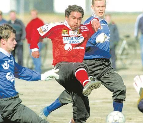 Hasan Cetinkaya oli FC Jazzin kantavia voimia 1990-luvun loppupuolella.