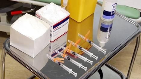 Perusterveiden rokotusten ennakoidaan alkavan Keski-Suomessa viikoilla 19-20 eli ensi viikosta lähtien.