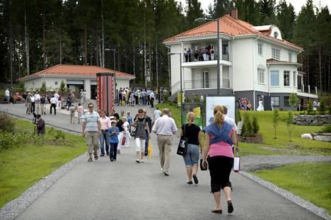 Mika Kallion perheelle suunniteltu koti oli Valkeakosken asuntomessujen kiinnostavinta antia vuonna 2009.
