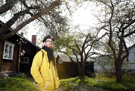 Kirstin talo Raumalla on Tarmo Thorströmin lempipaikkoja. Raumalle 19-vuotiaana muuttanut Thorström pitää kaupunkia enemmän kotinaan kuin aiempia asuinpaikkojaan.