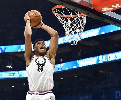 Giannis Antetokounmpo, 24, Milwaukee Bucks.