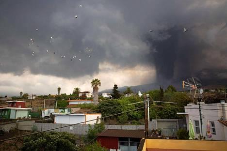 Tältä Cumbre Vieja -tulivuoren purkaus näytti 24. syyskuuta.