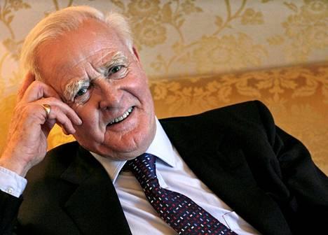 John le Carre kuoli lauantaina lyhyen sairauden jälkeen Cornwallissa Lounais-Englannissa