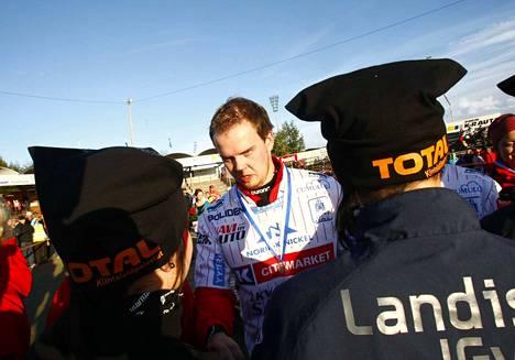 Vuoden 2010 hopea oli kitkerä kokemus Sami-Petteri Kivimäelle ja porilaisjoukkueelle.