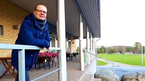Ison Kirjan ja Pohjoisjärven avarat maisemat ovat Samuel Aro-Panulalle mieluisia ja tuttuja myös asuinpaikkana.