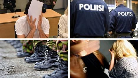 Poliisien määrä, lähisuhdeväkivallan ehkäisy, asevelvollisuus ja seksuaalirikoksista annettujen rangaistusten koventaminen toistuvat puolueohjelmissa niin oikealla kuin vasemmalla.