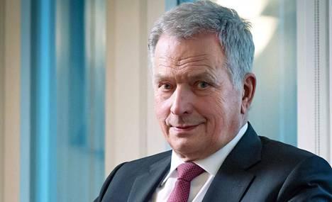 """""""Viruksen voittamiseen tarvitaan meistä jokaista"""", sanoo tasavallan presidentti Sauli Niinistö."""