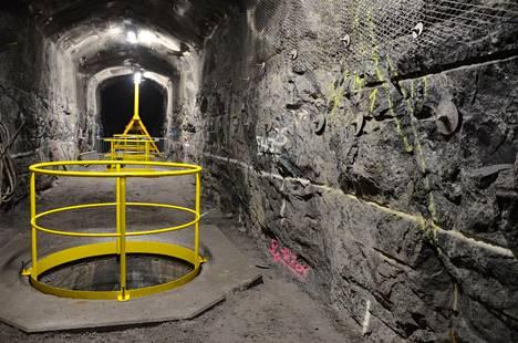 Olkiluodon ydinjätteiden viisi ensimmäistä loppusijoitustunnelia on tarkoitus louhia seuraavien puolentoista vuoden aikana. Kuvassa Olkiluodon kallioperään Onkaloon louhittu testitunneli.
