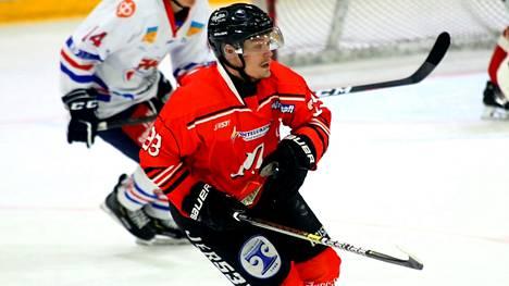 Ville Lehtonen on Nokian Pyryn kapteeni.