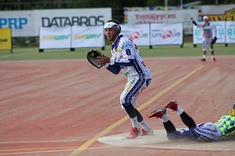 Joona Anttila oli yksi KaMan nuorista A-poikien arvo-ottelussa.