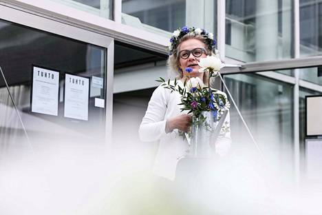 Paulina Ahokas valittiin uudeksi kukkaispormestariksi.