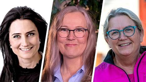 Mänttä-Vilppulan ensimmäiset aluevaaliehdokkaat ovat Heidi Auvinen, kd ja Mira Anttila, kok. Juupajoelta ehdolle on asetettu Carita Saarinen, kok.