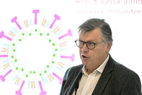 Professori Ilkka Julkusen mukaan koronataudin vakavuus ei ole merkittävästi muuttunut  taudin edetessä, vaikka deltavariantti tarttuu herkemmin.