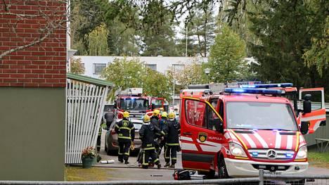 Mänttä-Vilppulassa Viilaajankadulla syttyi keskiviikkona ennen puoltapäivää pieni huoneistopalo.