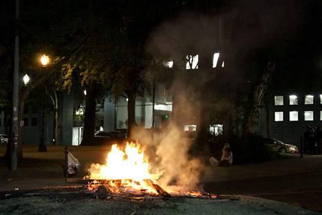 Portlandissa mielenosoitukset ovat jatkuneet lähes yhtäjaksoisesti toukokuun lopulta asti.