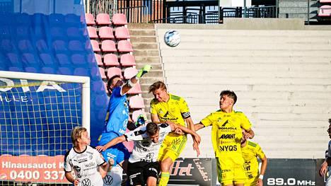 Ilves ja Haka kohtasivat tällä kaudella jo Tampereen Ratinassa 5.7., jolloin Ilves voitti 1–0.
