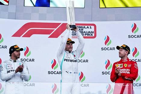 Valtteri Bottas on onnistunut horjuttamaan Lewis Hamiltonin itseluottamusta.