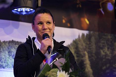 Nyrkkeilijä Mira Potkonen kertoi pronssijuhlissaan, että päällimmäisenä urheilu-urasta jäi mieleen urheilijaksi kasvaminen ja miten paljon työtä se vaatii.