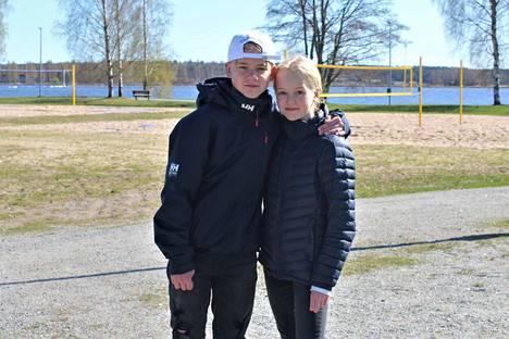 Väinö ja Vilma Mikkonen, Lahti.