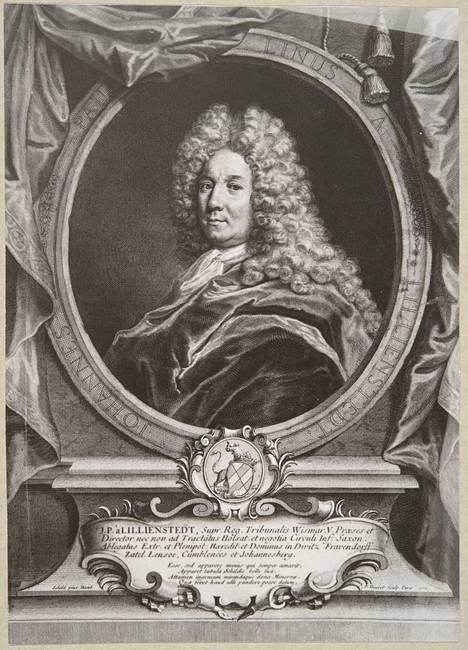 P. Drevet`in kuparipiirros R. Schildin maalauksen mukaan. Valmistusaika: 1710.