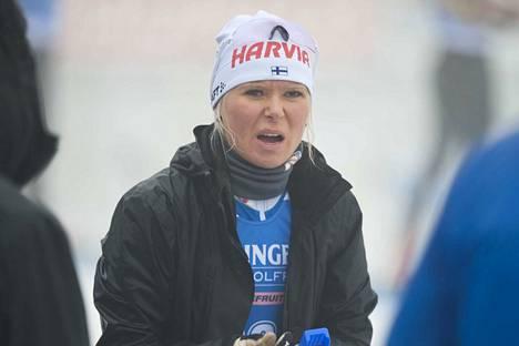 Mari Eder oli pettynyt suoritukseensa, vaikka tuloksena oli kauden paras sijoitus maailmancupissa: kahdestoista.