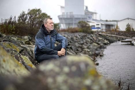 Markku Saiha on mukana kehittämässä Reposaaren kalasatamaa. Yhteistyö kaupungin kanssa on hänen mukaansa sujunut todella hyvin.