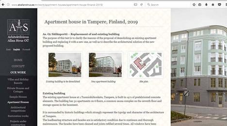 Tampereen Tuomikirkonkadun talohanke nousi julkisuuteen, kun virolainen arkkitehtitoimisto julkaisi suunnitelmista tietoa verkkosivuillaan. Havainnekuvassa nykyisen talon tilalle on hahmoteltu uusvanha rakennus.